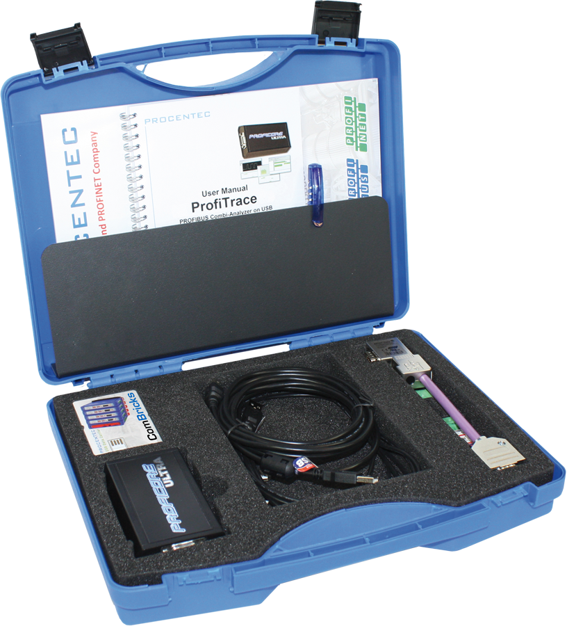 ProfiTrace - Mobile PROFIBUS Combi-Analyzer