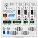 ProfiHub B2+R - 3 Segment redundant PROFIBUS DP Repeater - visual 2